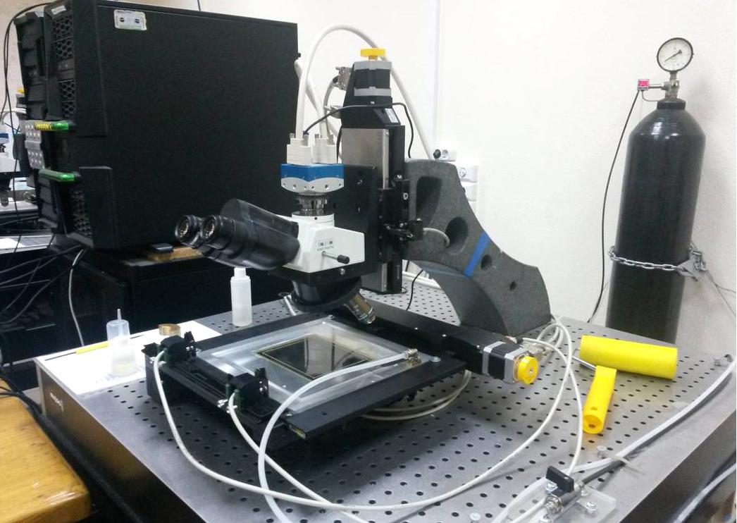 Автоматический комплекс для сканирования ядерных эмульсий в НИИЯФ МГУ