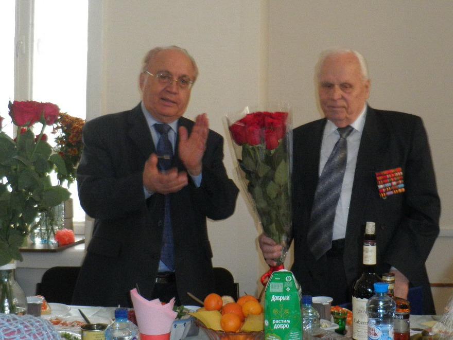 Павлу Николаевичу Сироклину 101 год! Поздравляем!