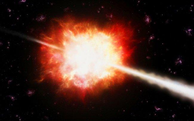Исследование космических гамма-всплесков на борту спутника «Ломоносов»