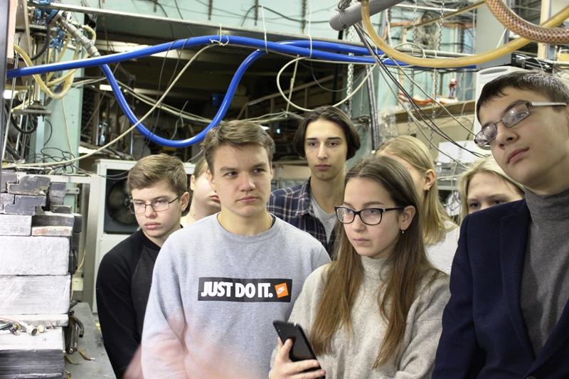 Продолжается взаимодействие НИИЯФ МГУ со школами Владимирской области.