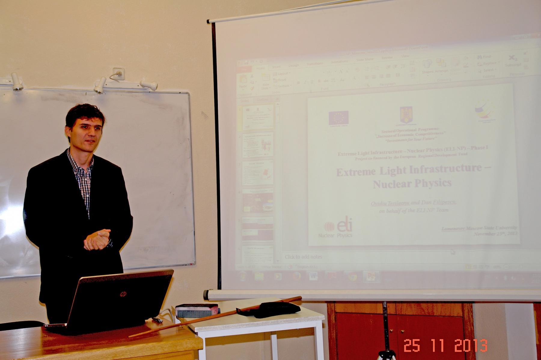 В НИИЯФ МГУ 25 - 26 ноября 2013 года прошло рабочее совещание сотрудни...