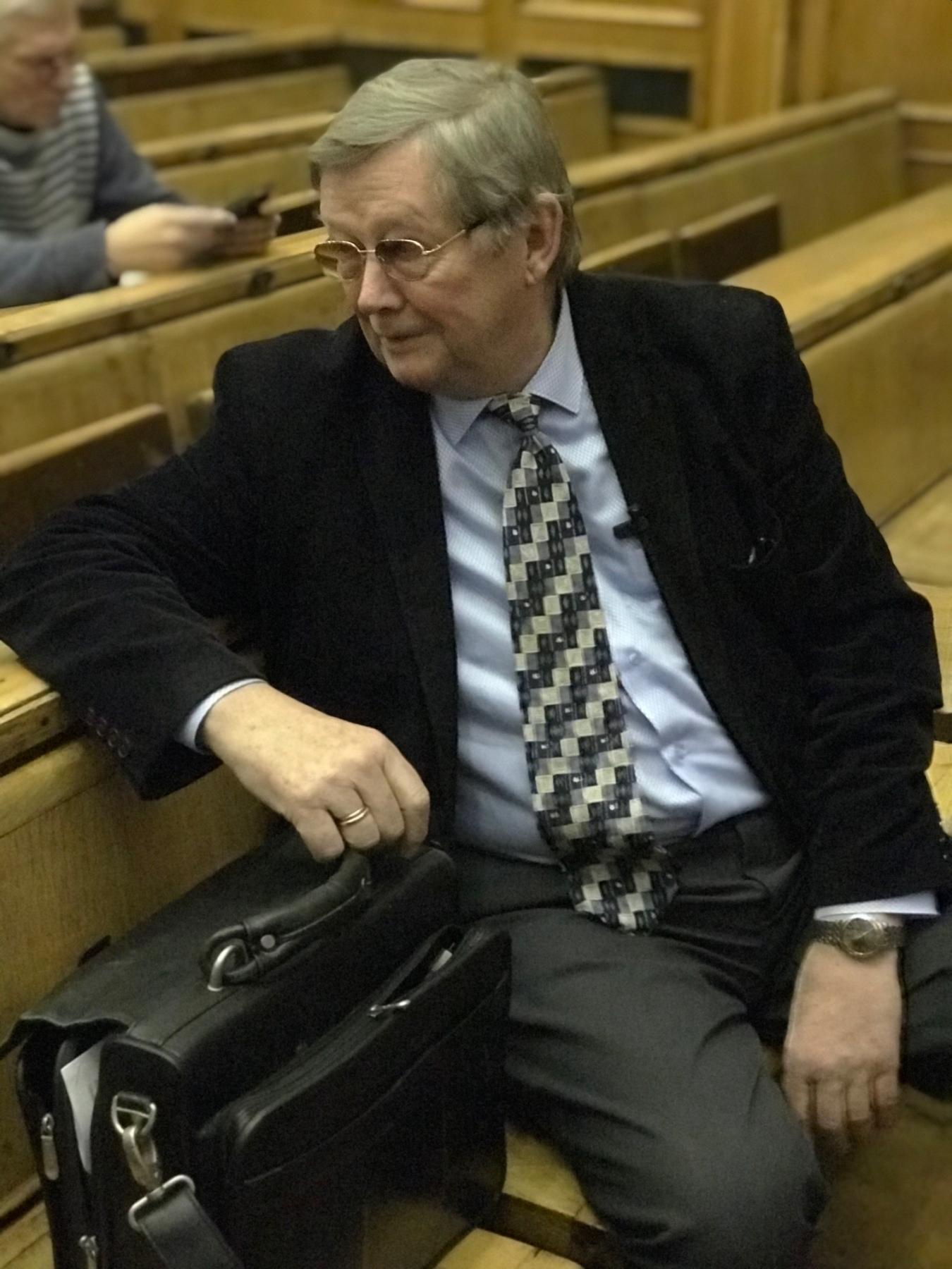 Лекция М.И.Панасюка в лектории МГУ