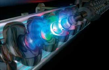 Кристалл фторида лития позволяет записывать и запоминать каустику луча...