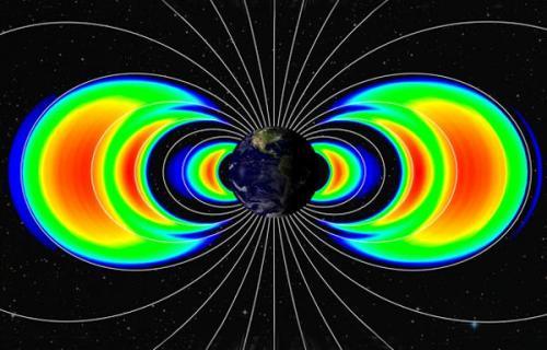 Радиационные пояса Земли. Источник: NASA
