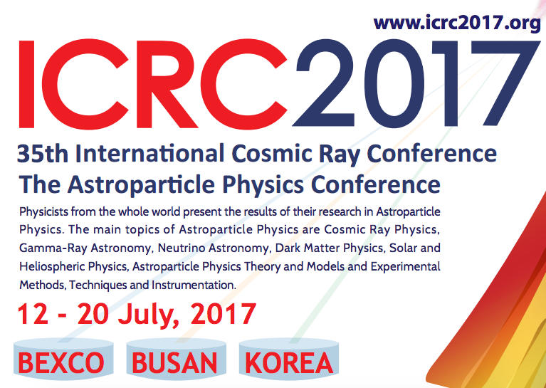 35th International Cosmic Ray Conference
